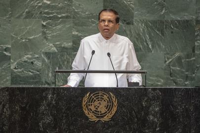 President of Sri Lanka Addresses General Assembly