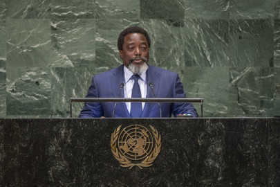 President of Democratic Republic of Congo Addresses General Assembly