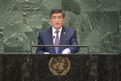 President of Kyrgyz Republic Addresses General Assembly