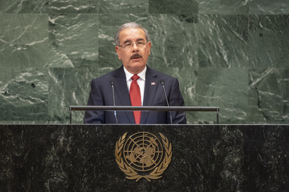 President of Dominican Republic Addresses General Assembly