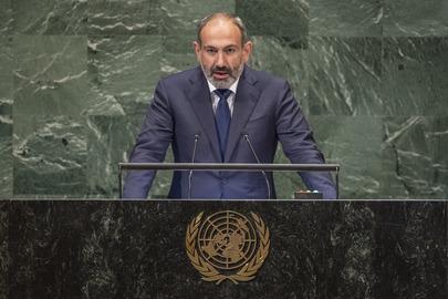 Prime Minister of Armenia Addresses General Assembly