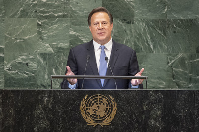 President of Panama Addresses General Assembly