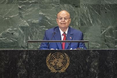 President of Yemen Addresses General Assembly