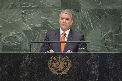President of Colombia Addresses General Assembly