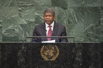 President of Angola Addresses General Assembly