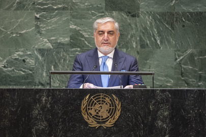 Chief Executive of Afghanistan Addresses General Assembly