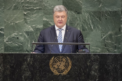 President of Ukraine Addresses General Assembly
