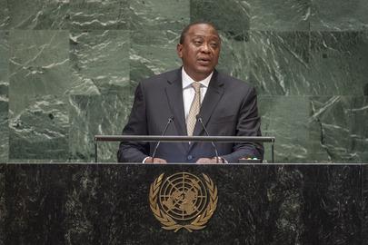 President of Kenya Addresses General Assembly