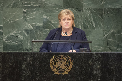 Prime Minister of Norway Addresses General Assembly