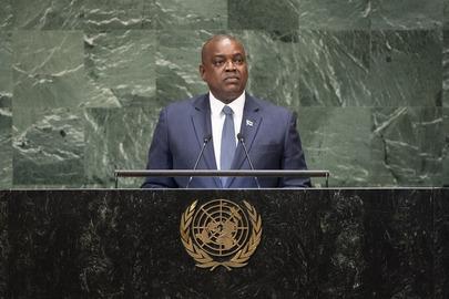 President of Botswana Addresses General Assembly