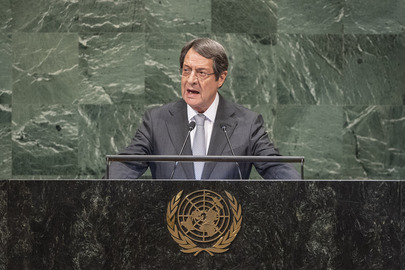 President of Cyprus Addresses General Assembly
