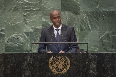 President of Haiti Addresses General Assembly