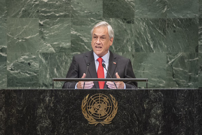 President of Chile Addresses General Assembly