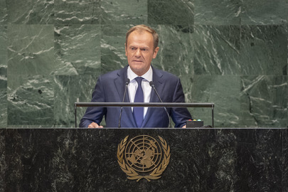 President of European Council Addresses General Assembly