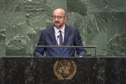 Prime Minister of Belgium Addresses General Assembly
