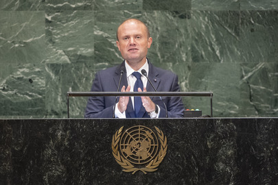 Prime Minister of Malta Addresses General Assembly