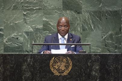 President of Guinea-Bissau Addresses General Assembly