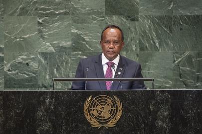 President of Madagascar Addresses General Assembly
