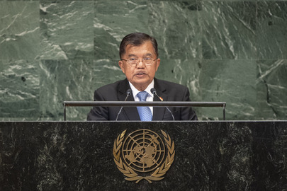 Vice-President of Indonesia Addresses General Assembly