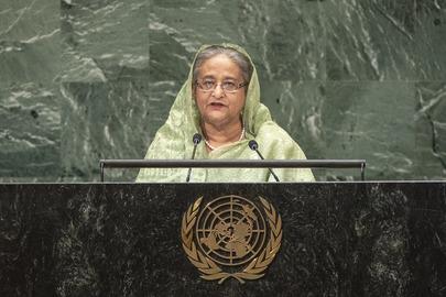 Prime Minister of Bangladesh Addresses General Assembly