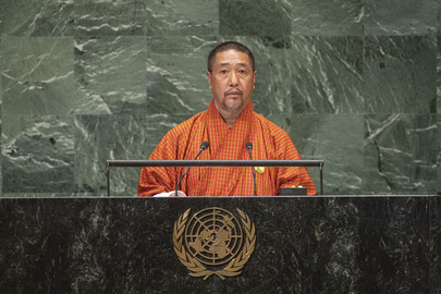 Acting Head of Government of Bhutan Addresses General Assembly