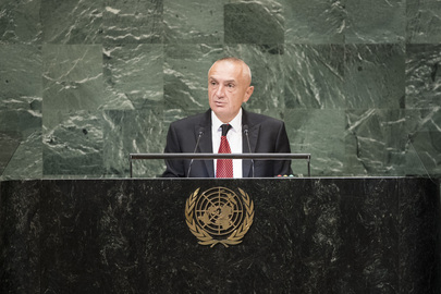 President of Albania Addresses General Assembly