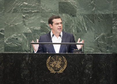Prime Minister of Hellenic Republic Addresses General Assembly