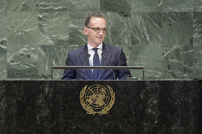 Foreign Minister of Germany Addresses General Assembly