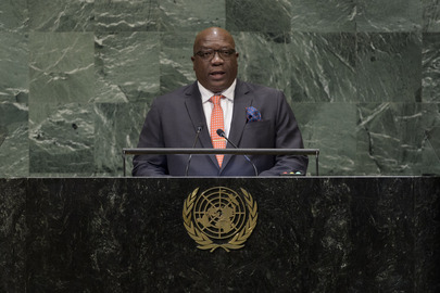 Prime Minister of Saint Kitts and Nevis Addresses General Assembly
