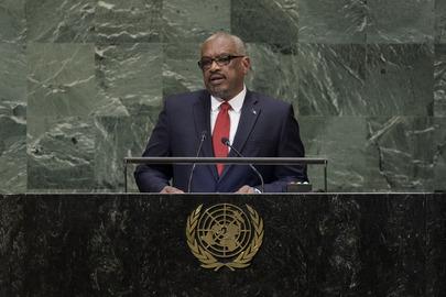 Prime Minister of Bahamas Addresses General Assembly
