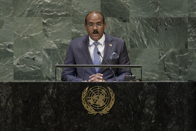 Prime Minister of Antigua and Barbuda Addresses General Assembly