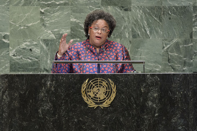 Prime Minister of Barbados Addresses General Assembly