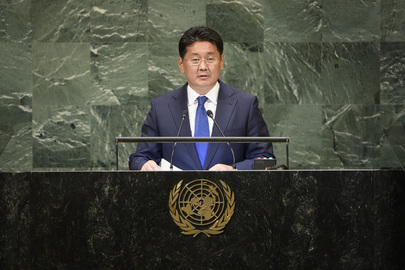Prime Minister of Mongolia Addresses General Assembly
