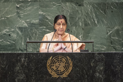 Minister for External Affairs of India Addresses General Assembly