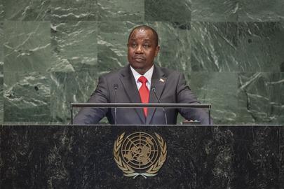 Foreign Minister of Burundi Addresses General Assembly