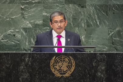 Foreign Minister of Brunei Darussalam Addresses General Assembly