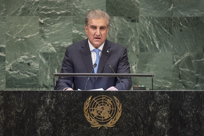 Foreign Minister of Pakistan Addresses General Assembly