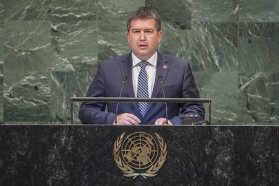 Deputy Prime Minister of Czech Republic Addresses General Assembly