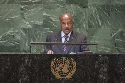 Foreign Minister of Eritrea Addresses General Assembly