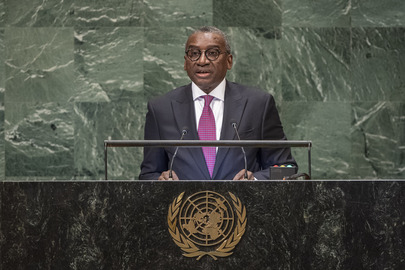 Foreign Minister of Senegal Addresses General Assembly