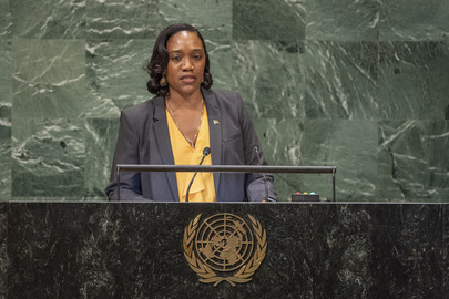 Foreign Minister of Dominica Addresses General Assembly