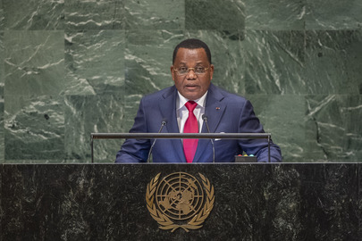 Foreign Minister of Congo Addresses General Assembly