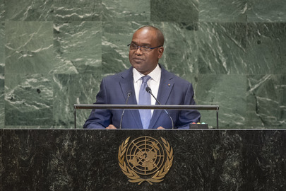 Foreign Minister of Burkina Faso Addresses General Assembly