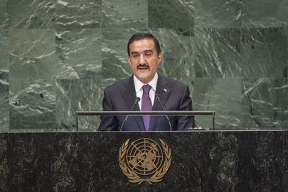 Permanent Representative of Tajikistan Addresses General Assembly