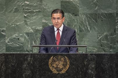 Permanent Representative of Uzbekistan Addresses General Assembly