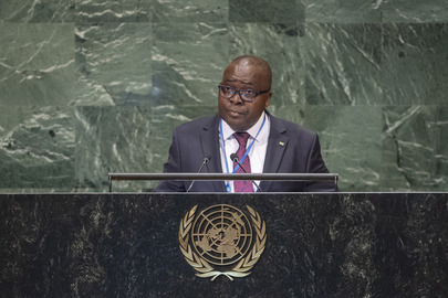Permanent Representative of Gabon Addresses General Assembly