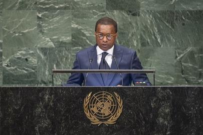 Permanent Representative of Benin Addresses General Assembly