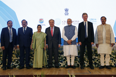 Prime Minister of India Receives Champion of Earth Award