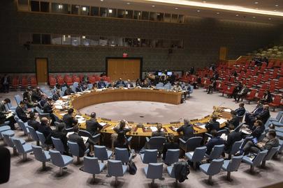 Заседание Совета Безопасности о ситуации в Ливии