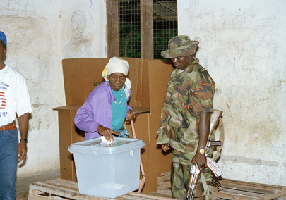 United Nations Observer Mission in Liberia Supporting the Electoral Process